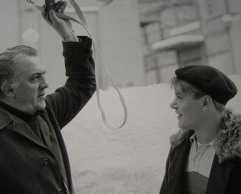 Федерико Феллини в «Орлёнке»