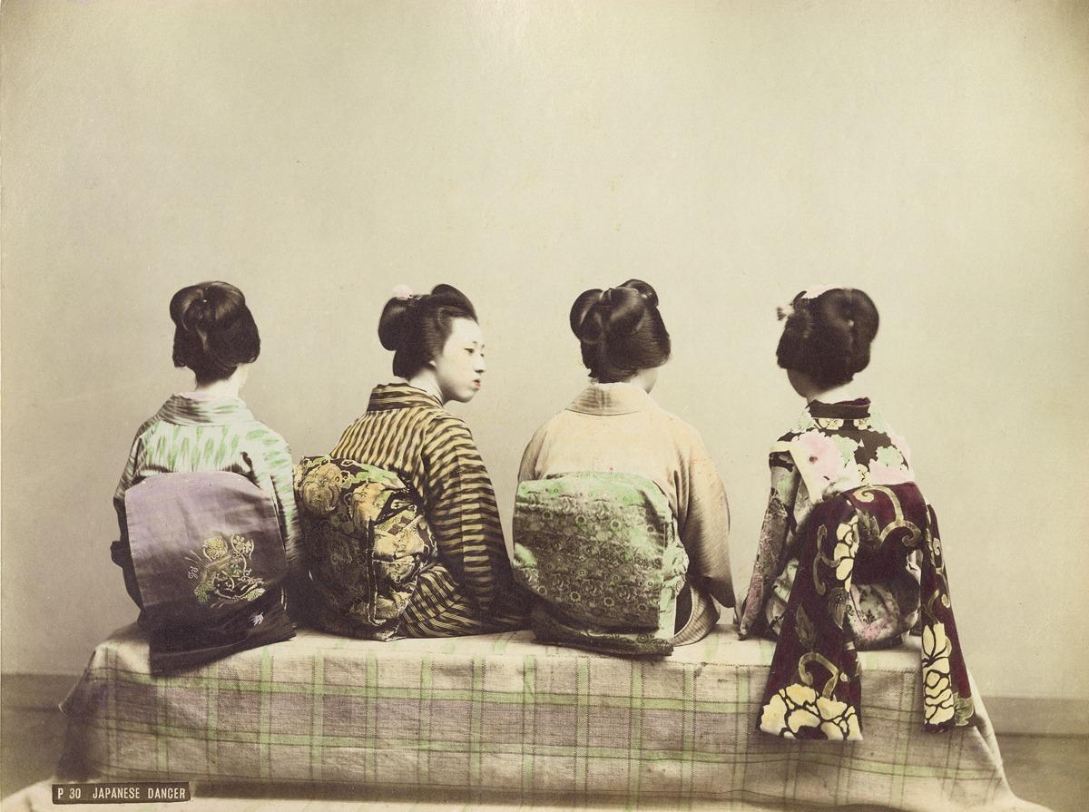 Неизвестный автор. Японские гейши. 1880-1890-е гг.