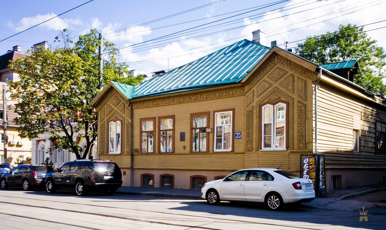 Дом Павла Климова на Большой Печёрской, 35 (Нижний Новгород)