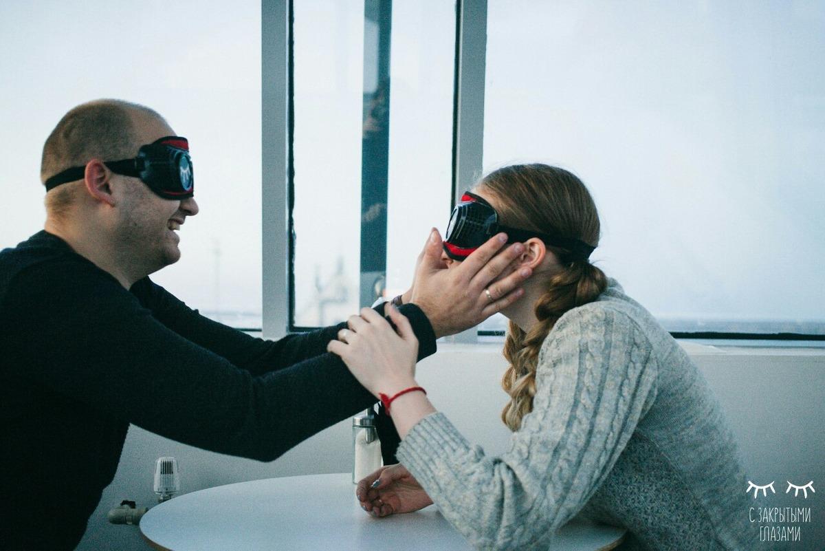 Проект «С закрытыми глазами» в Нижнем Новгороде