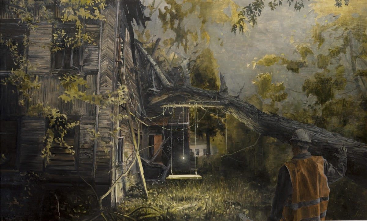 Выставка Андрея Оленева «Смена декораций»