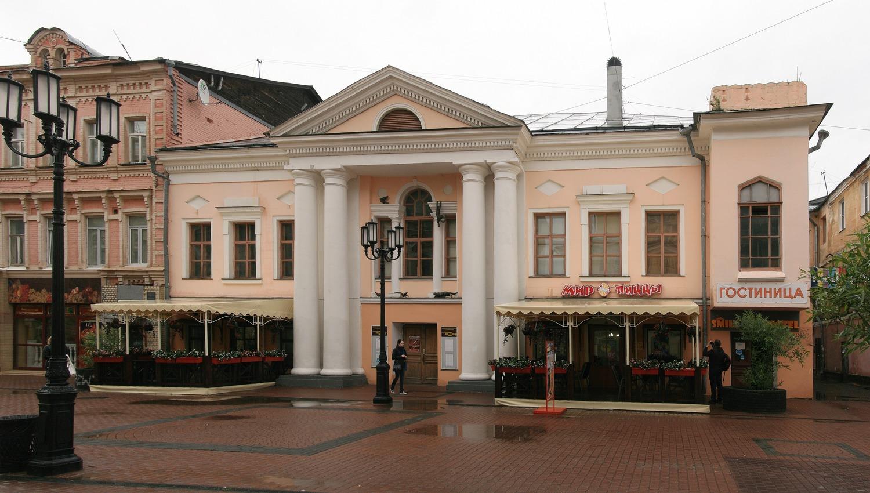 Дом Костромина, XVIII век, ул. Большая Покровская 4а, Нижний Новгород