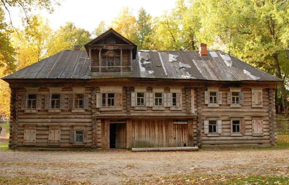 Дом Павловой - памятник деревянного зодчества XVIII века в Нижнем Новгороде