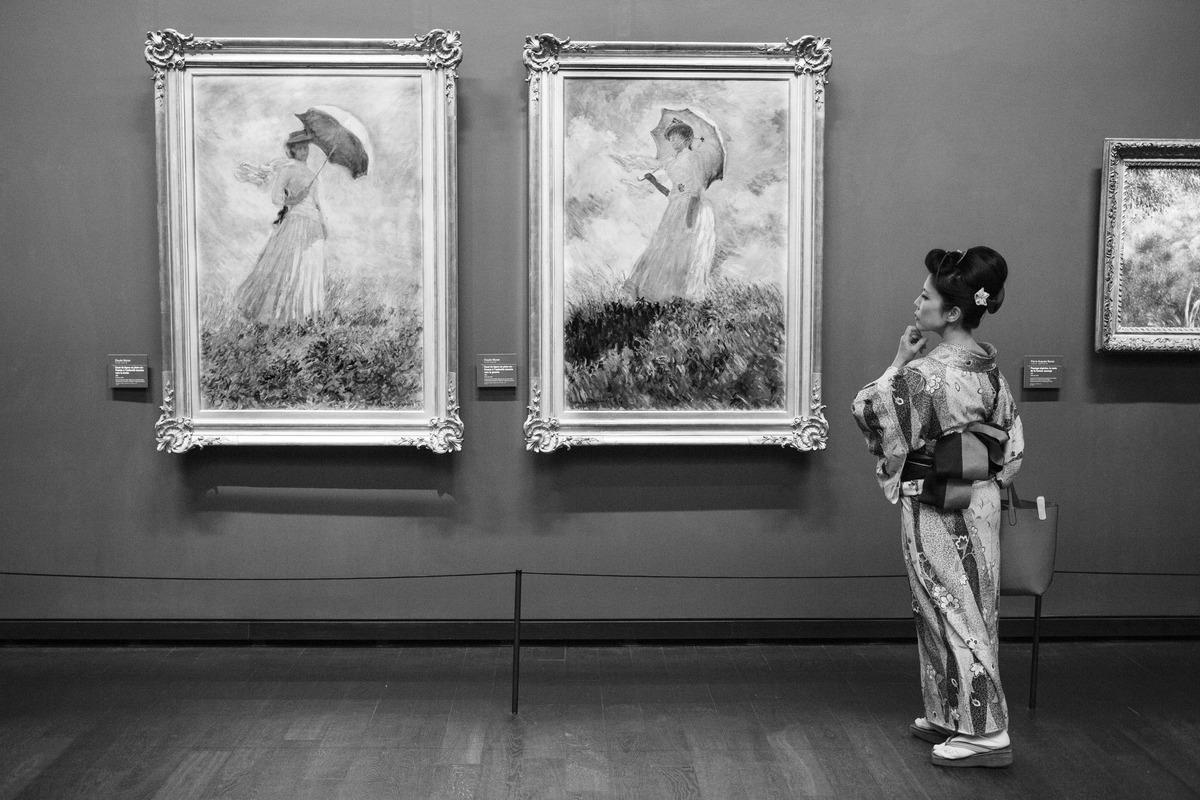 Выставка фотожурналиста Жерара Юфера «Один день в музее»