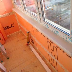 Ремонт на балконе: с чего начать?