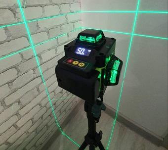 Преимущества лазерного нивелира с зеленым лучом