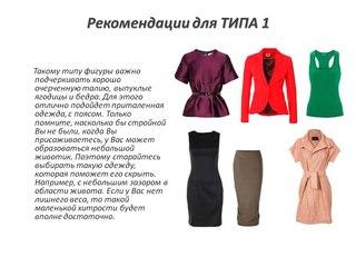 Рекомендации по выбору платья